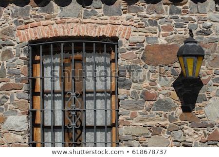 windows with iron grating Stock photo © ultrapro