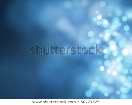 Abstract blue round business symbol  Stock photo © MONARX3D