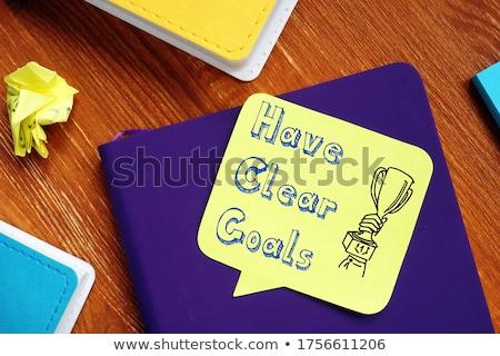 Clear goals Stock photo © Lightsource