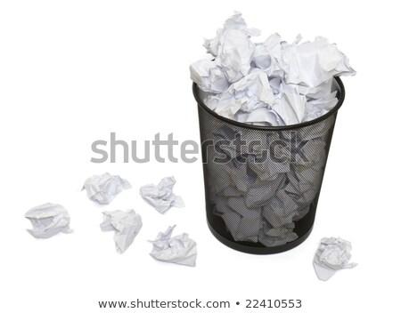 Paper Basket Detail Stock photo © SLP_London
