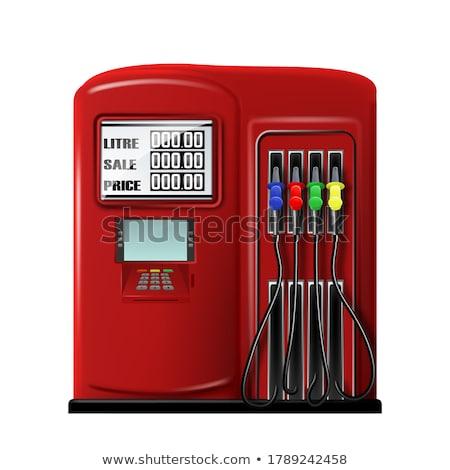 3d illustration: Filling machines with gasoline Stock photo © kolobsek