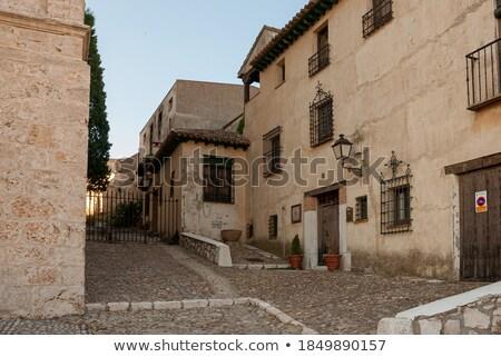 Madryt królewski pałac Hiszpania niebo miasta Zdjęcia stock © jeayesy