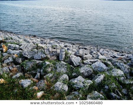 ラップ 青空 壁 石 岩 ストックフォト © ferdie2551