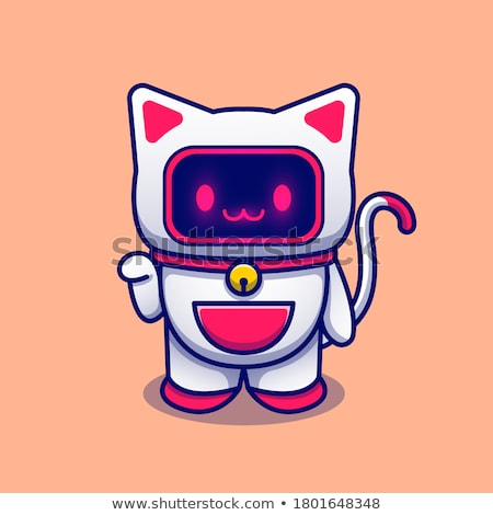 robot cat stock photo © cteconsulting