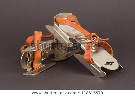 very old figure skate stock photo © michaklootwijk