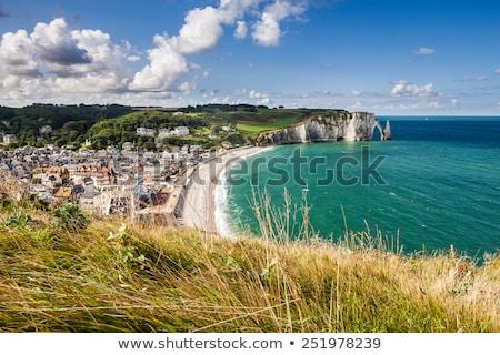 sahil · güney · Fransa · doğa · deniz - stok fotoğraf © bertl123