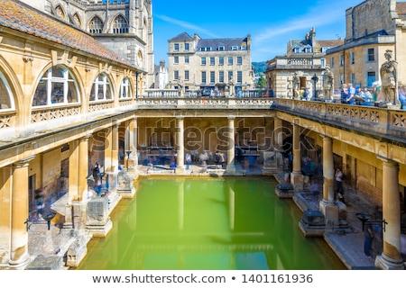 Ancient Roman Baths in the City of Bath, United Kingdom Stock photo © anshar