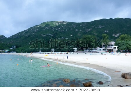 shek o coast in Hong Kong Stock photo © leungchopan