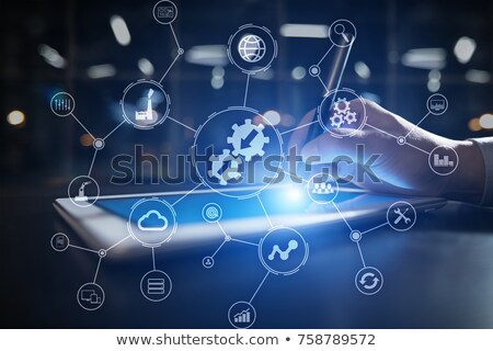 data integration information concept stock photo © tashatuvango