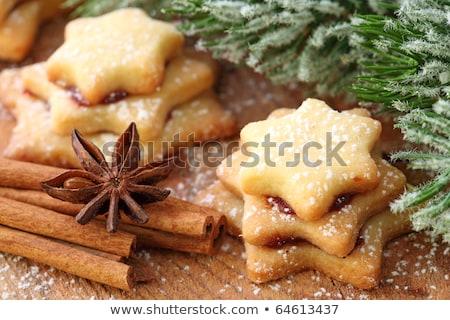 badem · malzemeler · Noel · kurabiye · gıda - stok fotoğraf © rob_stark