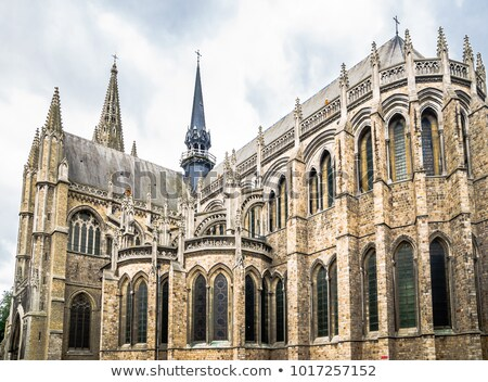 St Martin's Cathedral in Ypres Stock photo © chrisdorney