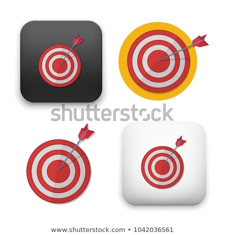 ダーツ ターゲット 眼 スポーツ リンゴ ストックフォト © irska