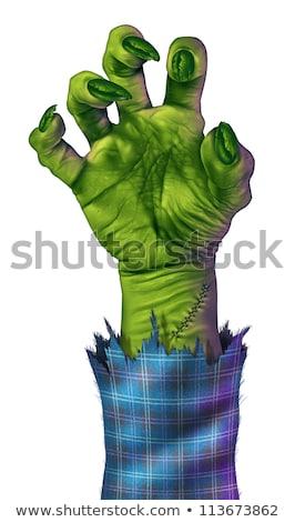 Blue Monster Hand Stock photo © Lightsource