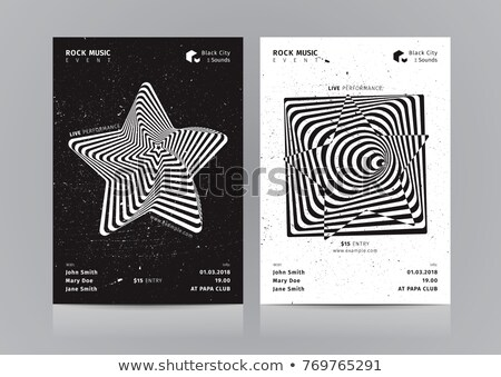 star optical illusion Stock photo © shawlinmohd