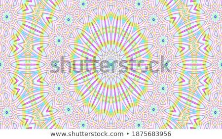 фрактальный лабиринт красочный аннотация текстуры художественный Сток-фото © diabluses