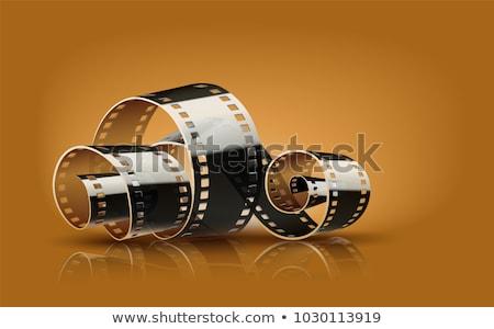 Filme cinematográfico filme retro cinema vídeo Foto stock © idesign