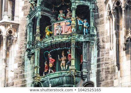 Detail of the town hall on Marienplatz, Munich  Stock photo © meinzahn