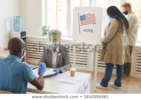 Adult Male Voter Stock photo © lisafx