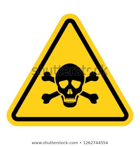 Poison sign Stock photo © tilo