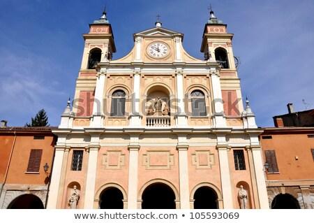 İtalya katedral kuzey yakın Bina şehir Stok fotoğraf © eddygaleotti