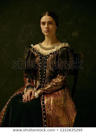 Portrait of the tempting lady Stock photo © konradbak