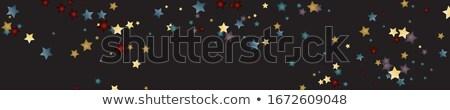 discoteca · estrelas · retro · cobrir · cd · lp - foto stock © marinini