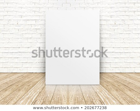 bağbozumu · kâğıt · tuğla · duvar · duvar · Metal · sanat - stok fotoğraf © stevanovicigor