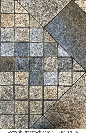Pattern Pavement Laid of  Polygon. Stock photo © tashatuvango