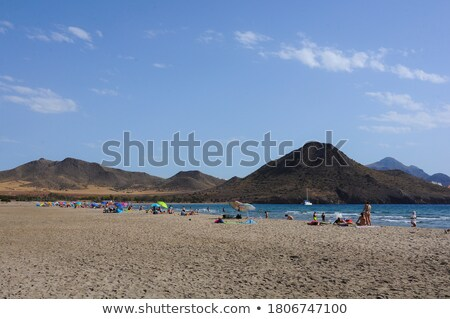 almeria playa de los genoveses natural park stock photo © lunamarina