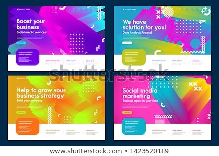 Effectief gekleurd nieuwe dag verlichting Stockfoto © Viva