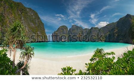 Alto ver montanha phuket ilha cênico Foto stock © Yongkiet