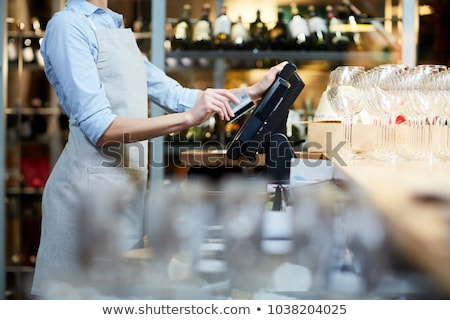 cash register close up stock photo © oleksandro