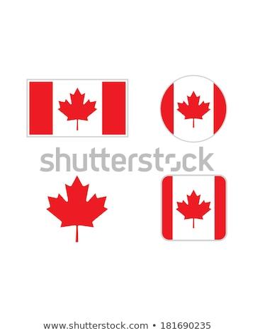 バッジ カナダの国旗 旅行 フラグ 印刷 白 ストックフォト © shutswis