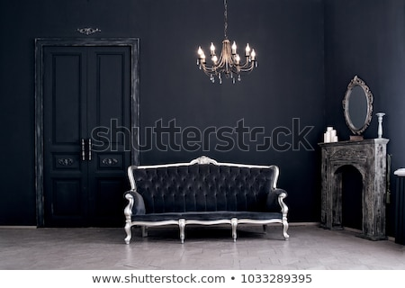 Elegancki żyrandol domu projektu domu tle Zdjęcia stock © gsermek