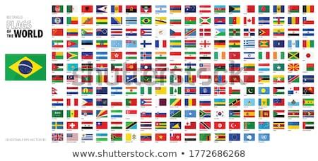 Egyesült Királyság Panama zászlók puzzle izolált fehér Stock fotó © Istanbul2009