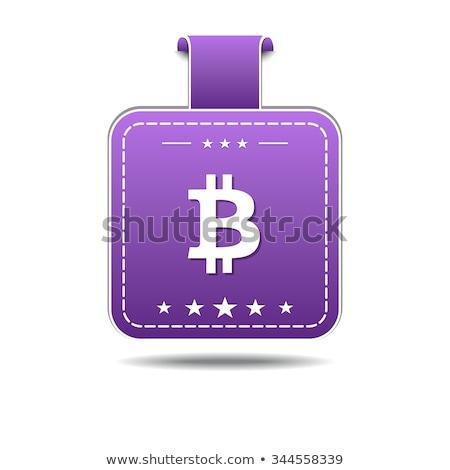 Bit moneda icono diseno negocios dinero Foto stock © rizwanali3d