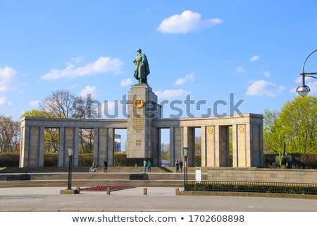 Soviet war memorial,berlin Stock photo © almir1968