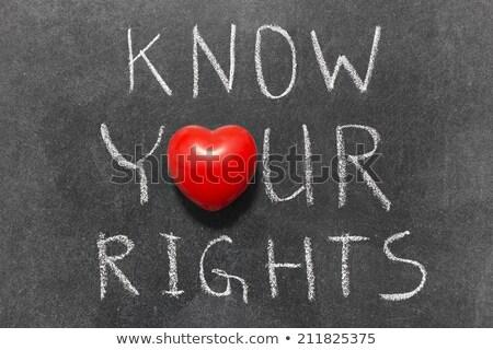 igazság · kézzel · írott · fehér · kréta · iskolatábla · könyv - stock fotó © tashatuvango