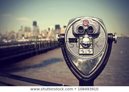 üst · görmek · New · York · vardiya · bulanıklık · Bina - stok fotoğraf © taiga