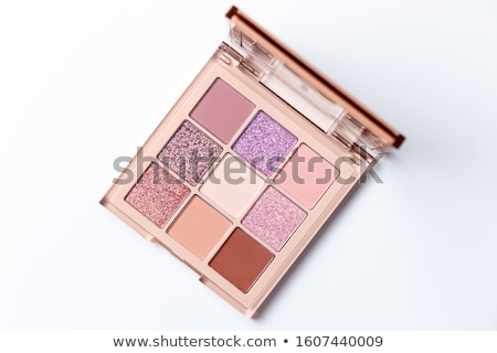 eyeshadow palette and brushes stock photo © oleksandro