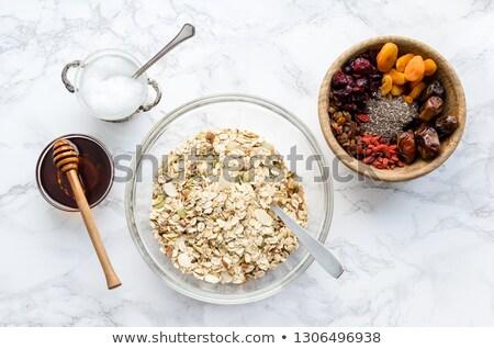 nuts mix oat cereals Stock photo © FOKA