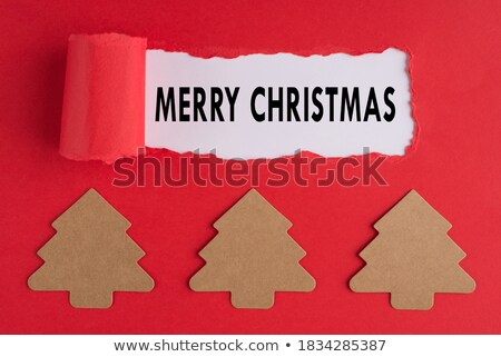 Congrats Torn Paper Concept Stock photo © ivelin