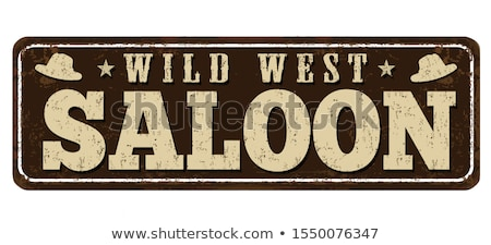 Vector Cowboy Saloon Concept Stock photo © dashadima