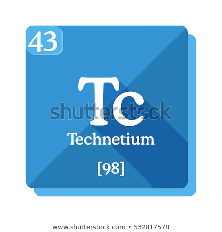 A Technetium element Stock photo © bluering