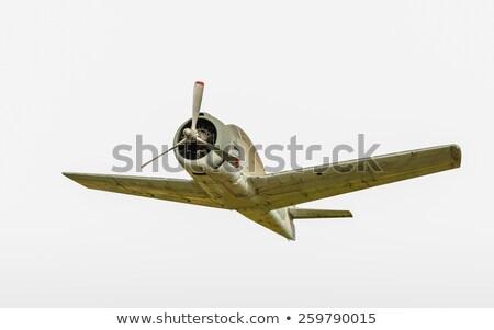 войны пропеллер истребитель плоскости Vintage исторический Сток-фото © Studiotrebuchet