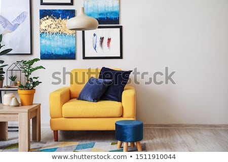 A house with houseplants Stock photo © bluering