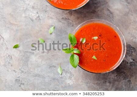 Sopa de legumes comida cenoura sopa vegetal Foto stock © M-studio