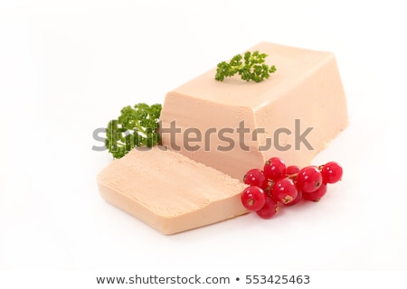 foie gras and redcurrant Stock photo © M-studio