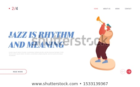Man playing cello vector illustration. Stock photo © RAStudio