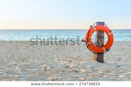 lifebelt on the beach Stock photo © adrenalina